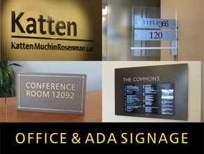 Office Signs & ADA Signage