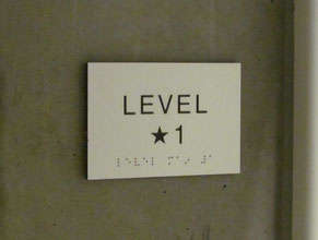 Stair Level ADA Signage