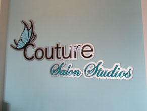 Couture 3D Lobby Wall Office Sign