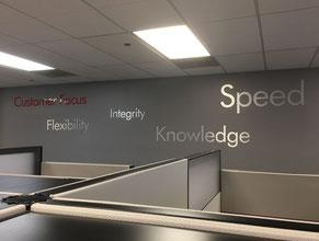 Motivational 3D Lobby Wall Office Sign