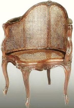fauteuil de cabinet  Loui XV -  XVIIIème