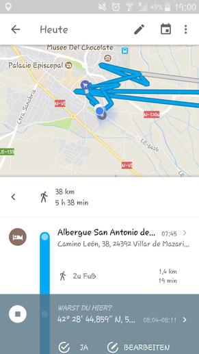 ..leichte Irrwege in Leon :o)