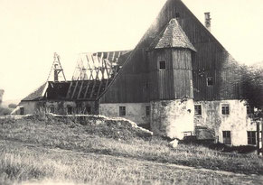 Bild: Wünschendorf Rittergut Teichler Abriss