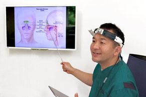 大阪府 堺市 耳鼻科 耳鼻咽喉科 しまだ耳鼻咽喉科 副鼻腔炎 蓄膿症 ちくのう症 検査