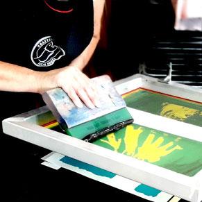 Siebdruck Workshop