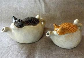 急須 猫の雑貨
