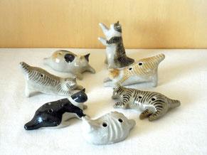 ネコリナ ネコ オカリナ 猫の雑貨 おもしろ楽器 nekorina