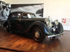 Bentley 3½ Liter Gurney Nutting Coupé  (Werks-Nr. B196FB von 1936), neu an  A. P. Strohmenger geliefert