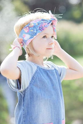 Stirnband zum selber Knoten Anny Kollektion 1