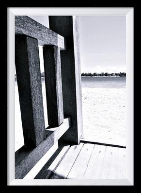 Schwarz-weiß Fotografie der Gili Islands
