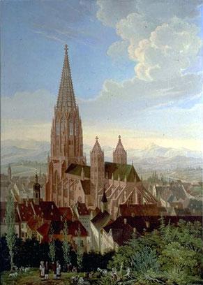 Freiburg im Breisgau mit seinem Münster