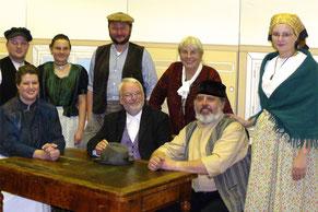 Gruppenbild mit Anne Eicke (3. von links) 2007 (De Guldplumpe)