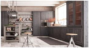 Vollholzküchen und Massivholzküchen fürs Allgäu und Kempten