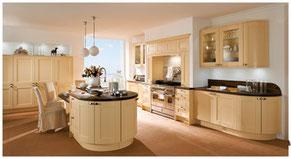 Planung und Küchenmontage von klassischen Küchen vom Schreiner