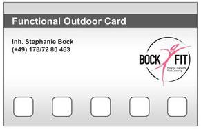 Trainingskarte Functional Outdoor Fitness