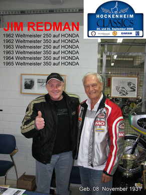 Meine Wenigkeit mit Jim Redman ;-)