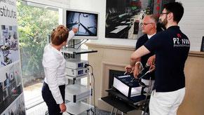 Laparoskopieren im European Robotic Institute (ERI)