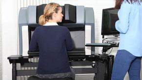 Trainingssituation im European Robotic Institute (ERI)