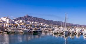 Puerto Banus en Marbella - fotografía de Jaime D. Triviño - Fotógrafo de arquitectura e Interiorismo
