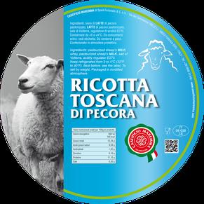 ricotta maremma sheep sheep's cheese dairy caseificio tuscany tuscan spadi follonica label italian origin milk italy fresh tender toscana di pecora