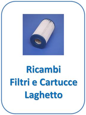 Ricambi cartucce per filtri laghetto