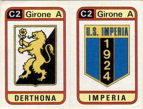 FIGURINA PANINI DERTHONA  1983-84