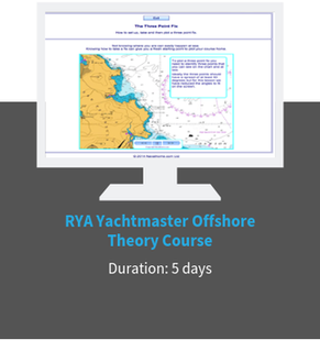 RYA Yachtmaster Offshore Theory Online Course