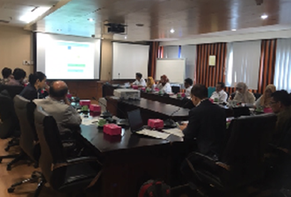Meeting and discussions at MEMR