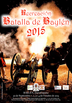 Recreación de la Batalla de Bailén 2015 Cartel y Programa