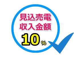 見込売電収入金額20%