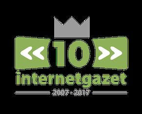 Van Bun Communicatie & Vormgeving - Internetgazet Lommel - Illustraties - Tekeningen - Grafisch ontwerp - Publiciteit - Reclame - logo 10 jaar