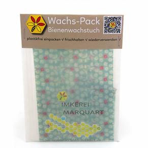 Mitbringsel Bienenwachstuch Set Bodensee