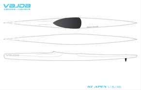 VAJDA K1 ApeX L_XL_XXL Designvorlage, Kajak Nord