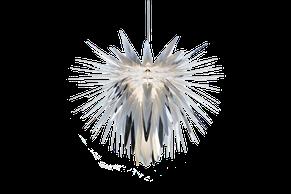 Lampa wisząca Burst w kolorze srebrnym