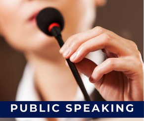 Public speaking weekend