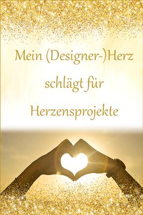 Mein Designer-Herz schlägt für Herzensprojekte - Sonja Kleiser Werbung & Design