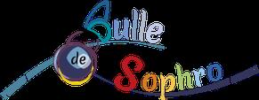 Logo pour la sophrologue Pascale Bridoux-Ruelle de Bulle de Sophro créé par Cloé Perrotin de l'entreprise Illustr'&Vous