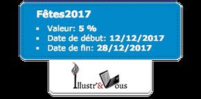 Bon de réduction de 5euros code Printemps2017 sur la boutique Illustr'&Vous de Cloé Perrotin