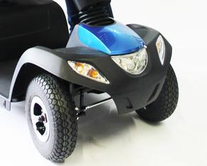 Elektromobil mit Licht