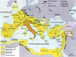 Römisches Reich Karte.Untergang Des Römischen Reichs Und Frühmittelalter Schwengelbeck Eu