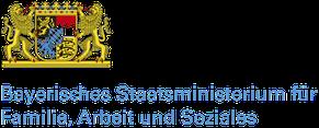 Logo Bayerisches Staatsministerium für Familie, Arbeit und Soziales