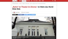 """Daniel Kehlmanns """"Ruhm"""" im Theater im Zimmer - Presseartikel Hamburger Morgenpost"""