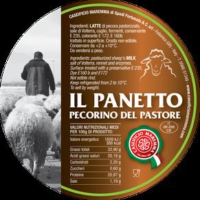 maremma pecora formaggio pecorino caseificio toscano toscana spadi follonica etichetta italiano origine latte italia semistagionato panetto pastore