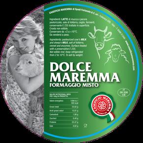 maremma misto mucca pecora formaggio caseificio toscano toscana spadi follonica etichetta italiano origine latte italia dolce fresco vacca bovino