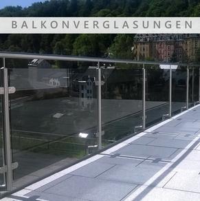 Glas, Balkonverglasung, Balkonabtrennung, Terassenverglasung, Terassenabtrennung, Firma Glasschleiferei Uwe Sieber, Crottendorf, 09474