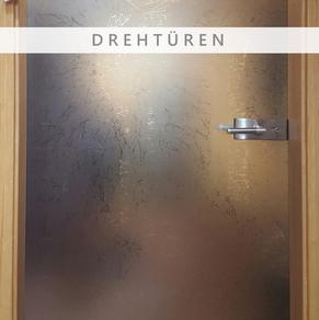Glas, Drehtüren, Glastüren, Türen, Firma Glasschleiferei Uwe Sieber, Crottendorf, 09474