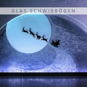 Glas Schwibbögen, Glasschleiferei Uwe Sieber, Jennifer Sieber, Crottendorf, Erzgebirge