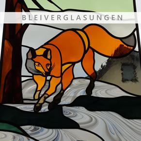 Glas, Bleiverglasung, Kunstverglasung, von Antje Vogel, Jennifer Sieber, Firma Glasschleiferei Uwe Sieber, Crottendorf, 09474