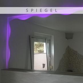 Spiegel, Maßanfertigung, Glas, Firma Glasschleiferei Uwe Sieber, Crottendorf, 09474