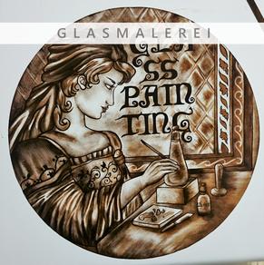 Glas, Glasmalerei, glasspainting, glassart, Kunstverglasung, von Jennifer Sieber, Firma Glasschleiferei Uwe Sieber, Crottendorf, 09474